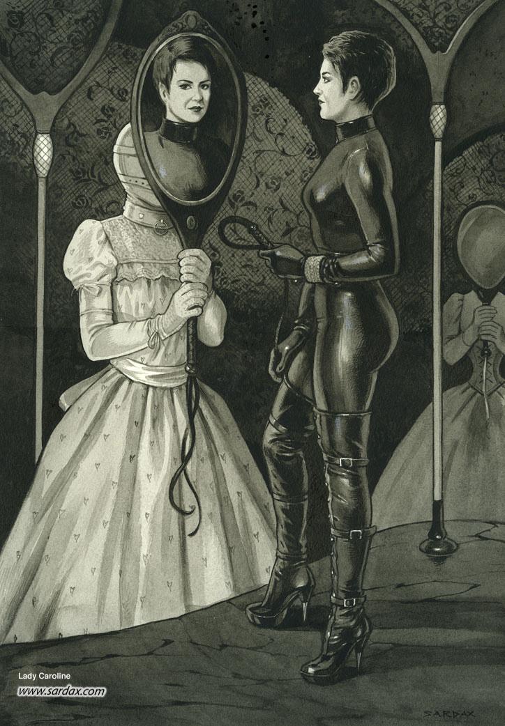 Рисунки о госпоже #1